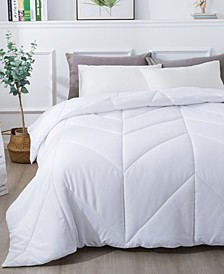 Chevron Down Alternative Comforter, Full/Queen