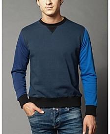 Men's Cut and Sewn Fleece Cotton Jersey Sweatshirt