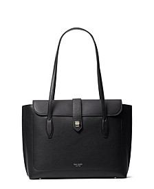 Essential Large Leather Work Tote