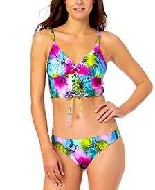 Juniors' Cami Bikini Top & Hipster Bikini Bottoms, Created for Macy's