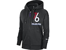 Philadelphia 76ers Women's City Edition Full Zip Hoodie