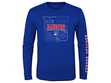 Youth New York Rangers Maze Long-Sleeve T-Shirt