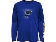 Kids St. Louis Blues Stop The Clock Long-Sleeve T-Shirt