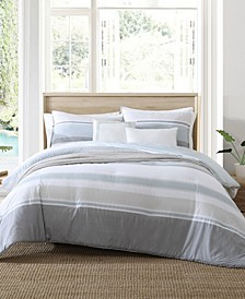 Eastport 4 Piece Full/Queen Comforter Bonus Set