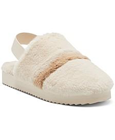 INC Idalya Faux-Fur Slippers, Created for Macy's