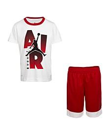 Little Boys Dri-FIT T-Shirt and Shorts Set