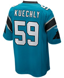 Men's Luke Kuechly Carolina Panthers Game Jersey