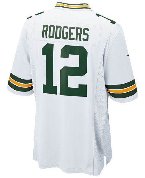 Nike Men's Aaron Rodgers Green Bay Packers Game Jersey