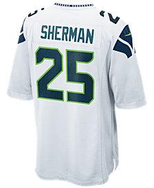 Nike Men's Richard Sherman Seattle Seahawks Game Jersey