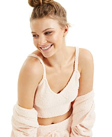 CULPOS x INC Fuzzy Cropped Tank Top, Created for Macy's