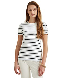 Cotton Ribbed T-Shirt