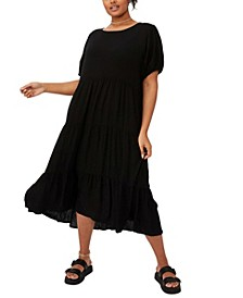 Women's Trendy Plus Size Cece Babydoll Maxi Dress
