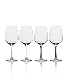 Melody Red Wine Glass Set of 4, 20 oz