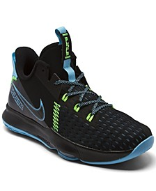 Big Boys LeBron Witness 5 Basketball Sneakers from Finish Line