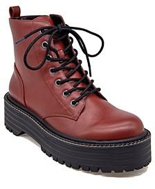 Women's Kayte Combat Boots