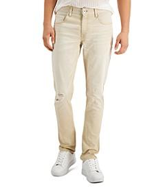 Men's Khaki Skinny-Fit Pants, Created for Macy's
