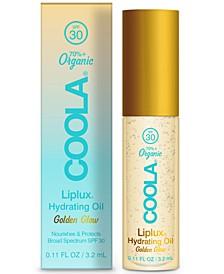 Liplux Organic Hydrating Oil SPF 30, 0.11-oz.