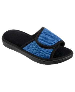 Isotoner Signature Slides ISOTONER WOMEN'S SCOUT MESH ADJUSTABLE SLIDE SLIPPERS