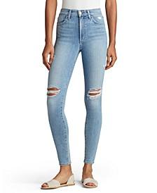 Wallflower Charlie Distressed Skinny-Leg Jeans