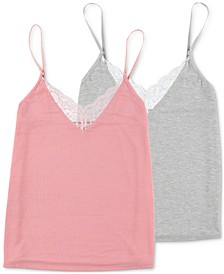 2-Pk. Lace-Trim Sleep Cami