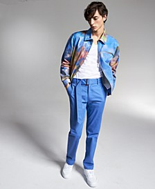 Allen Onyia for INC Men's Regular-Fit Abstract-Print Twill Jacket, Created for Macy's