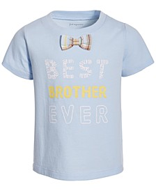 Baby Boys Bowtie Cotton T-Shirt, Created for Macy's