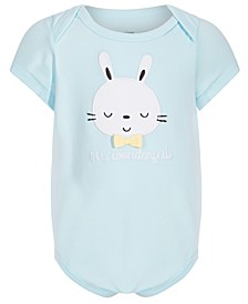 Baby Boys Bunny Bodysuit, Created for Macy's
