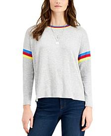 Petite Crewneck Sweater, Created for Macy's