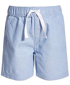 Baby Boys Light Chambray Cotton Shorts, Created for Macy's