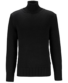 BOSS Men's Dellavalle Mock-Neck Sweater