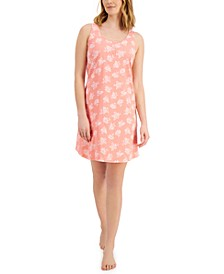 Cotton Tank Chemise Nightgown, Created for Macy's
