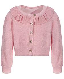 Baby Girls Ruffle Cardigan, Created for Macy's
