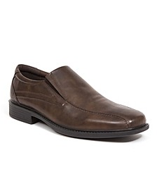 Men's Noble Runoff Toe Slip-On Classic Dress Loafers