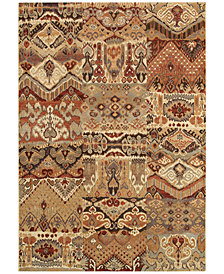 Couristan Rugs Taylor Phoenix Ivory-Salmon