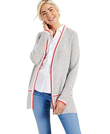 Cashmere Sammy Long-Sleeve Completer Sweater, Created for Macy's