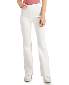 Juniors' Pull-On Flare Jeans