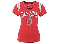 Ohio State Buckeyes Women's All In Slub T-Shirt