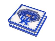 Kentucky Wildcats 3D StadiumViews Coasters, Set of 2
