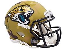Jacksonville Jaguars Camo Alternate Mini Helmet