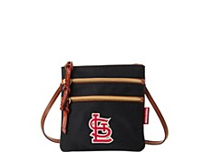 Dooney & Bourke St. Louis Cardinals Camden Sport North South Triple Zip Purse