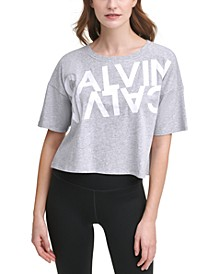 Mirror Logo Cropped Active T-Shirt