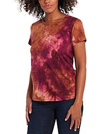Tie-Dye Brushed T-Shirt