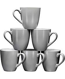 16 oz Large-Sized Coffee Mugs, Set of 6