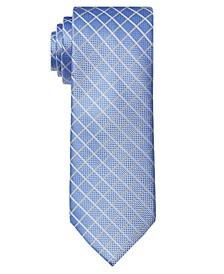 Men's Crossover Check Tie