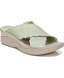Sahara Washable Slide Wedge Sandals