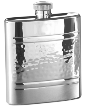 Closeout! Marquis by Waterford Barware, Vintage Stainless Steel Flask