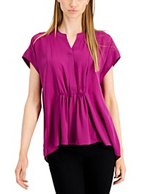 Gathered-Waist Top, Created for Macy's