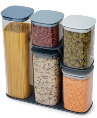 Podium™ 5-Pc. Stackable Food Storage Set with Stand