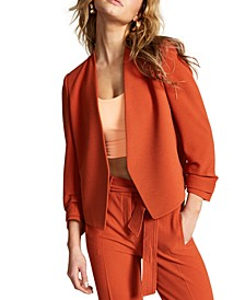 Ruched-Sleeve Jacket, Created for Macy's