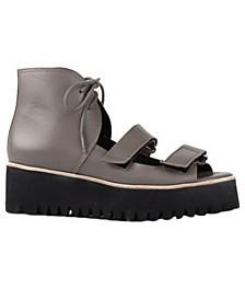 Women's Flatform Multi Band Sandals